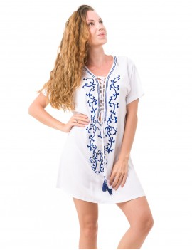 Elma Dress - White