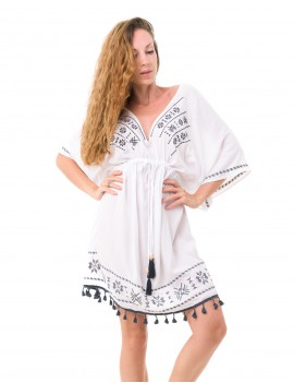 Dafne Cover Up - White