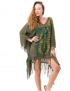 Akila Cover Up - Olive