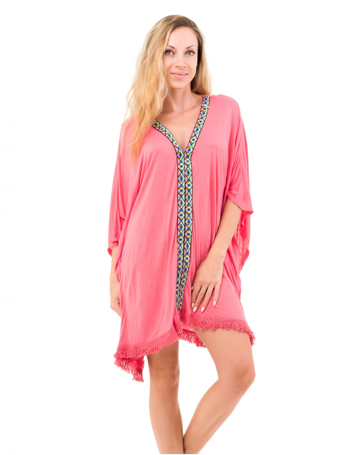 Cheryl Cover Up Coral Saona Collection
