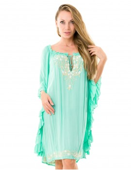 Prune Dress - Mint