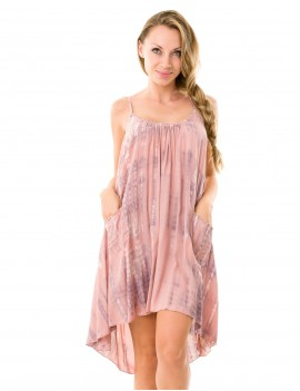 Tara Dress - Tanah Lot Soft Pink