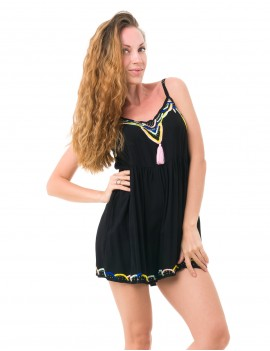 Jasmina Playsuit - Black