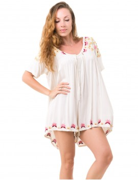 Maria Playsuit - Off White