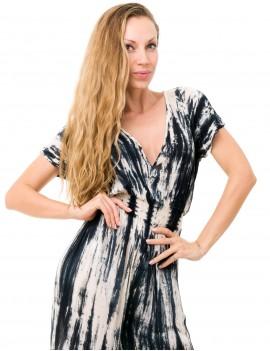 Xolia Jumpsuit - Td Zebra Cream & Black
