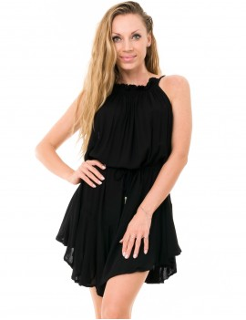 Prune Dress - Black