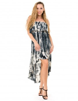 Charleston Krarang Dress - Td Zebra Cream And Black