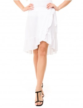 Flamengo Skirt - White