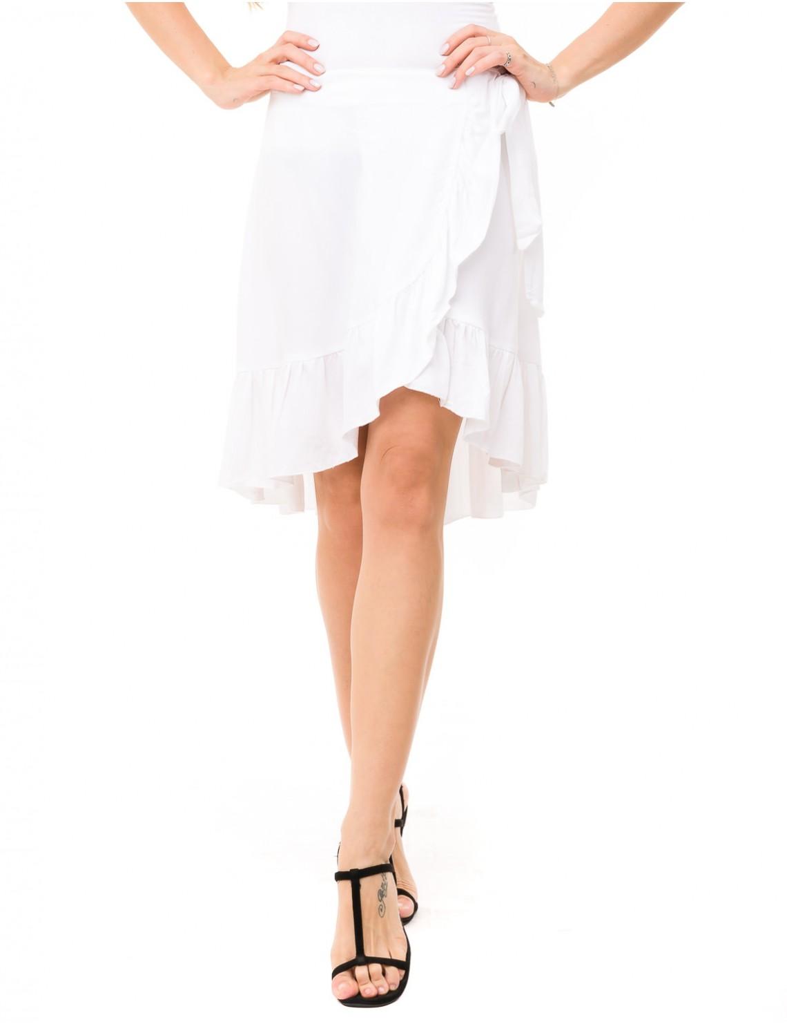 Flamengo Skirt - White