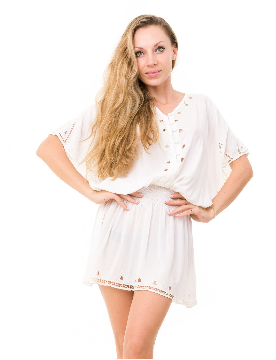 Tifen Cover Up - Off White