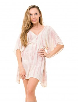 Evelyna Cover Up - Td Cream Zebra & Skin