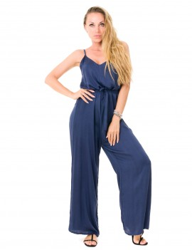 Maeva Jumpsuit - Navy Blue