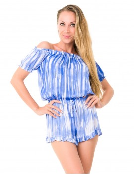 Oxo Playsuit - Picasso Persian