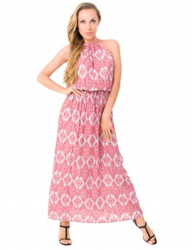 Kaya Dress - Jaspal Watermelon
