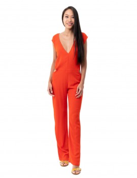 Jumpsuit Eva - Orange Flamboyant