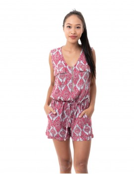 Playsuit Doria - Jaspal Watermelon