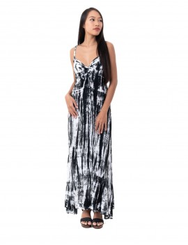 Dress Viviane - Td Zebra Black And White