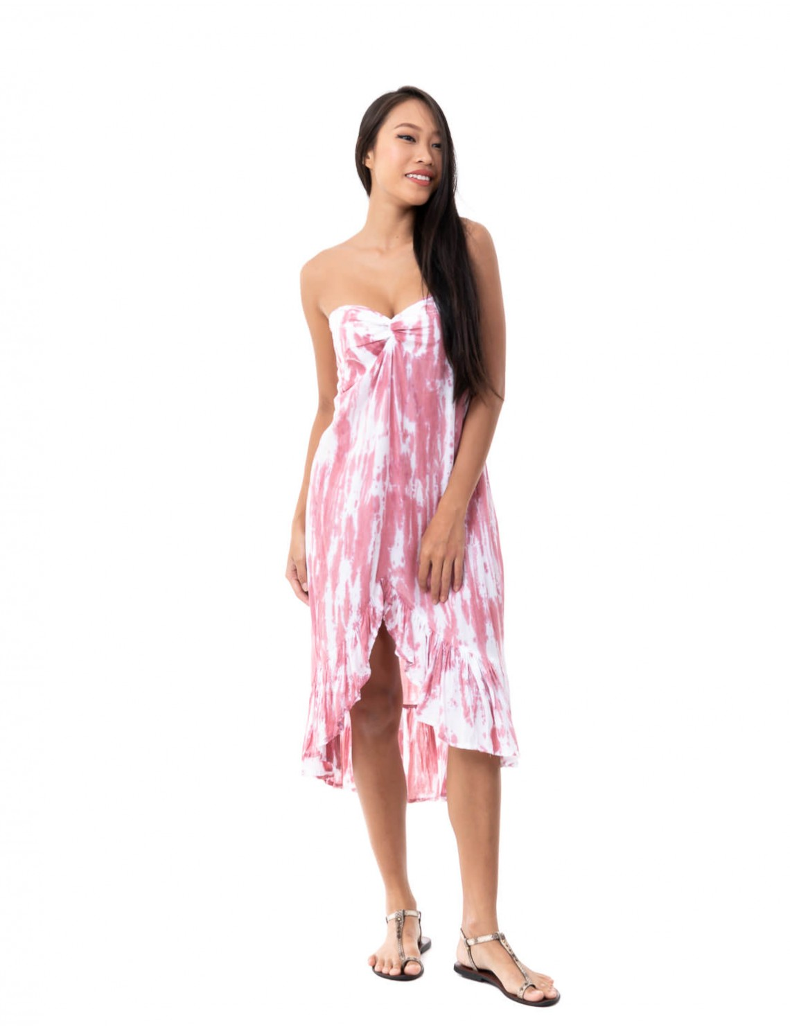 Dress Olinda - Picasso Cashmere Pink