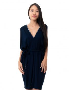 Aladin Dress - Navy Blue