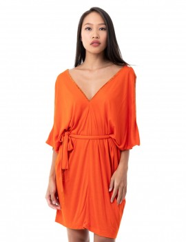 Dress Aladin - Orange Flambloyant