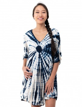 Mele Dress - Td Square Blue Surf The Web