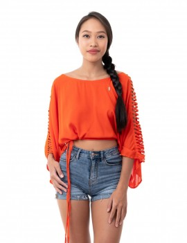 Top Lea - Orange Flamboyant