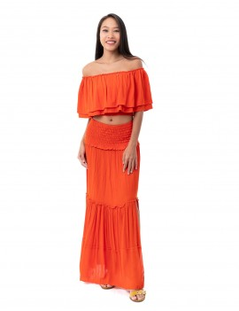 Outfit Flamengo Pearl- Orange Flambloyant
