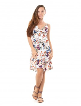Dress Love - Japonese Floral White