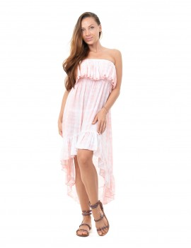 Dress Charleston Krarang - Td Python Peach