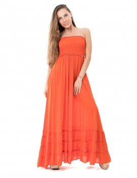 Dress Kona - Orange Flamboyant