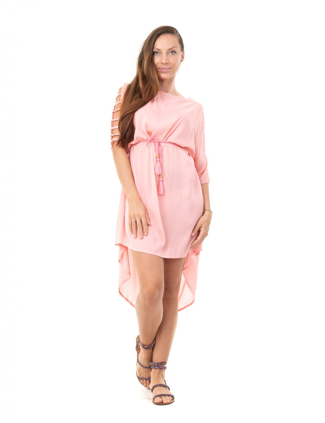 Cover Up Acia Kaftan - Dusty Pink