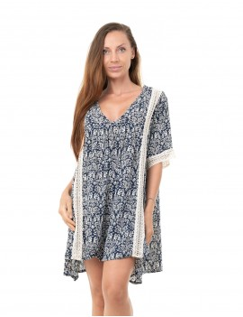 Cover Up Ziru - Royal Mood Indigo & Ivory