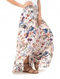 Pant Butterfly - Japonese Floral White