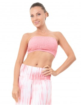 Top Shirred Band - Dusty Pink