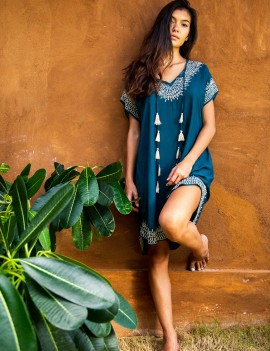 Cover Up Hammamet - Navy Blue