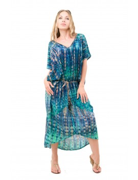 Dress Mariana - Skele Strong Green