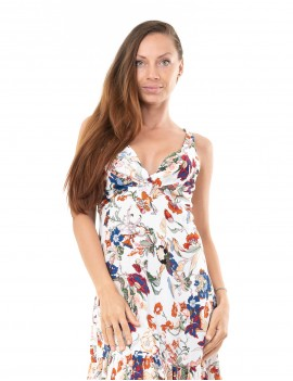 Love Dress - Japonese Floral White