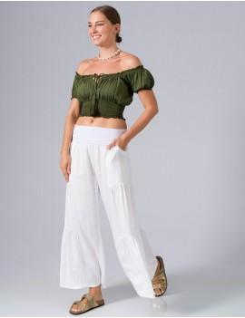 Shava Pants - White