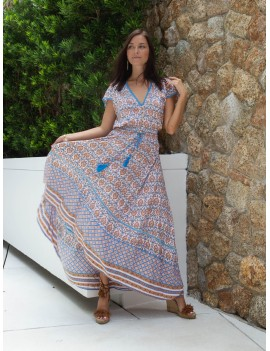 Mexico Dress - Matala Blue Azul