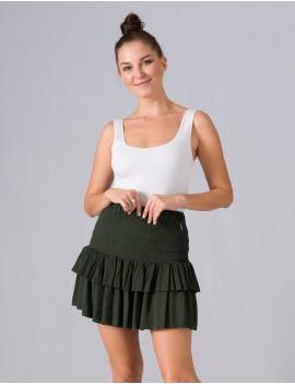 Magali Skirt - Vetiver