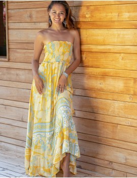 Kona Dress - Lisboa Yellow