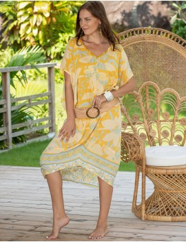 Mariana Dress - Lisboa Yellow