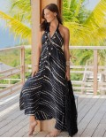 Jasmina Dress - Td Abstrack Black