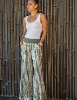 Laura Pant - Td Zebra Vetiver