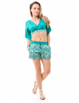 Outfit Ginger - Jaspal Tropical Green